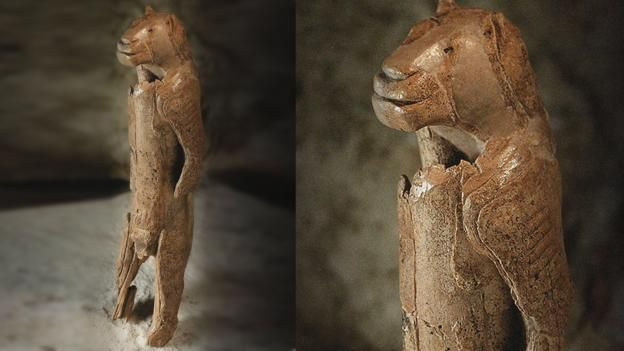 Löwenmensch (Aslaninsan), 30 bin years ago