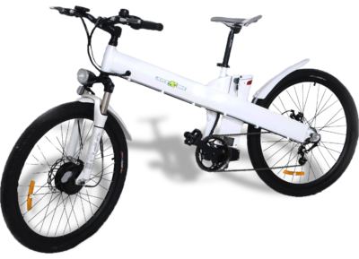 bicicletas elétricas branca