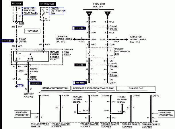Ford Trailer Wiring Diagram