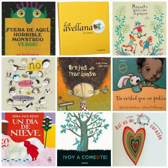 libros infantiles imprescindibles de 0-6 anos
