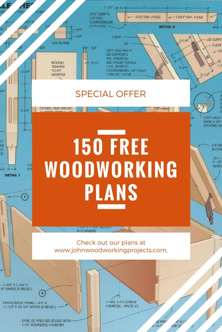 Get 150 Woodworking Pdf Plans For Free From Our Friend John Woodworking Plans Free Woodworking Plans Woodworking Projects Diy