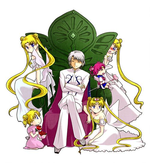 Neo Queen Serenity And Prince Diamond, Chibi Chibi Moon