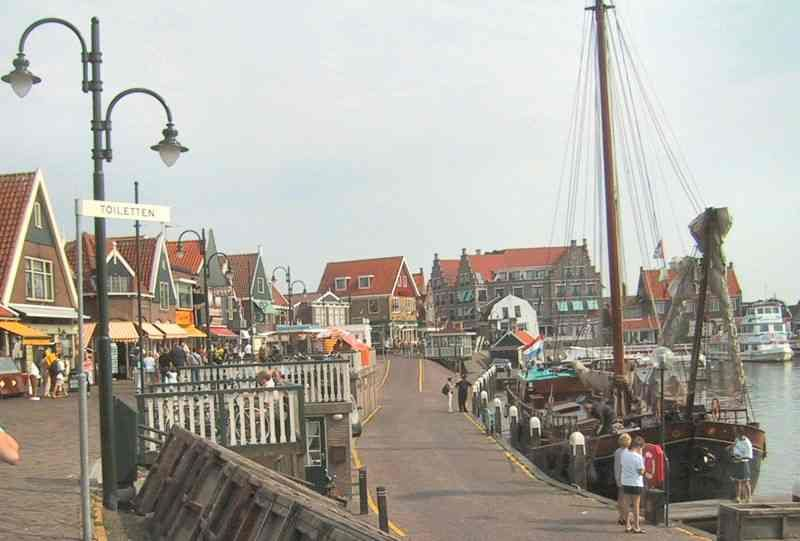 Volendam, Holland on the North Sea