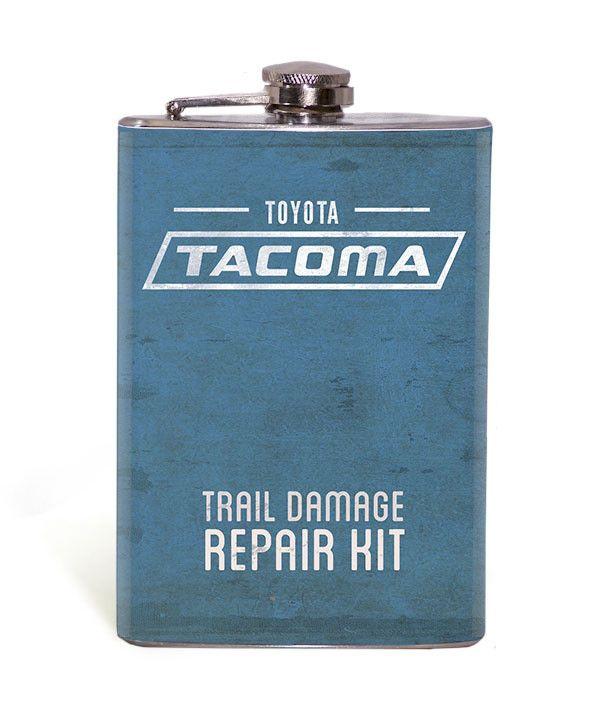 Tacoma Trail Damage Repair Kit - 8oz Flask