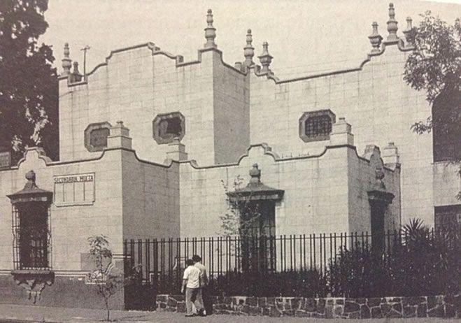 Tomada de: Historia de la Arquitectura Mexicana. Enrique X. de Anda A.