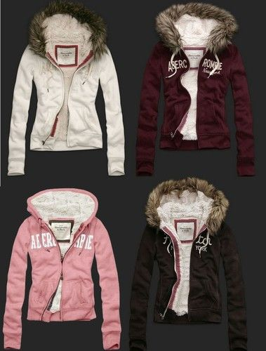 hollister jackets warm