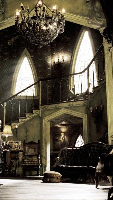 Interiors House A Series Of Unfortunate Events