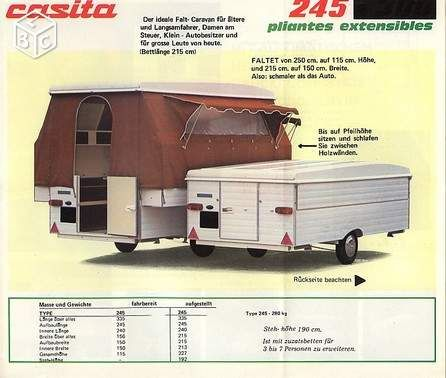 casita caravane pliante des ardennes caravanes camping cars vintages pinterest caravane. Black Bedroom Furniture Sets. Home Design Ideas