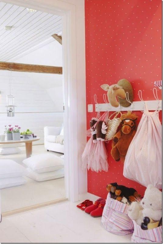 Polka dots, decora las paredes de tu casa con lunares