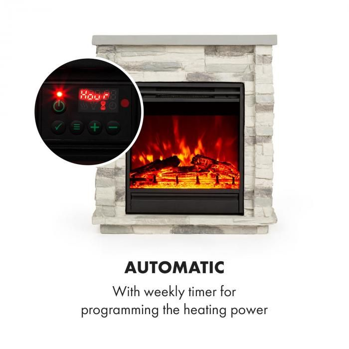 Lienz Electric Fireplace | Electric fireplace, Best ...