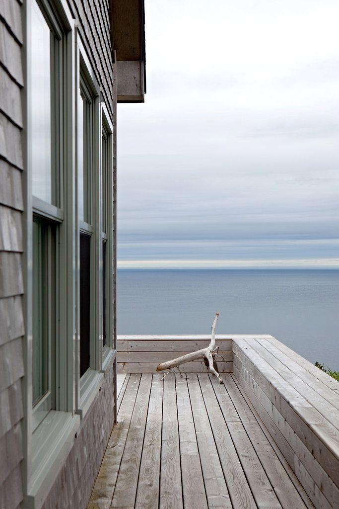 A Hilltop Cottage in Nova Scotia | Tranquilidad, Madera natural y ...
