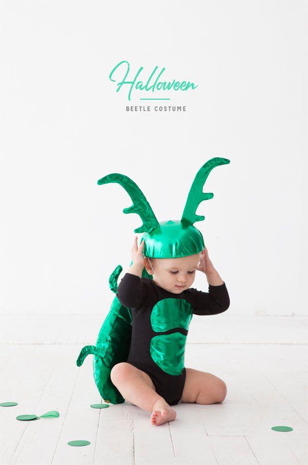 Beetle Baby Costume Oh Happy Day! Halloween Pinterest - trajes de halloween para bebes