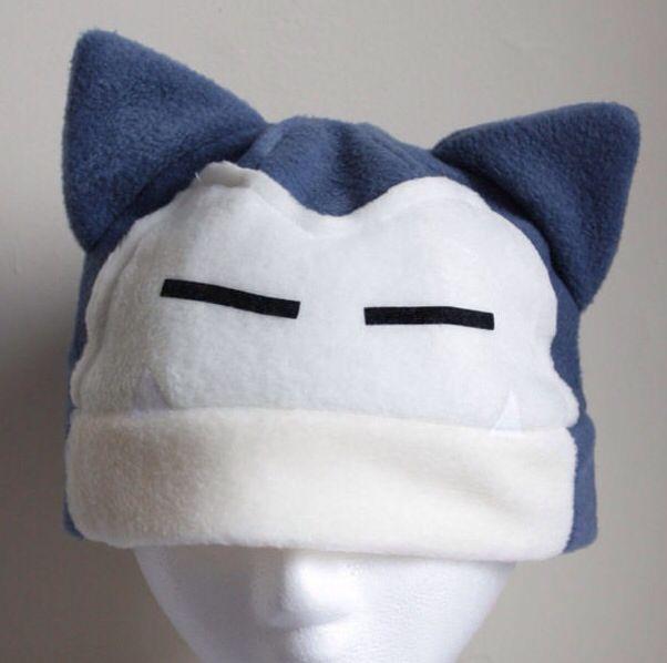 snorlax beanie | cosplay,anime diy, animés cuccok | Pokémon, Fleece ...