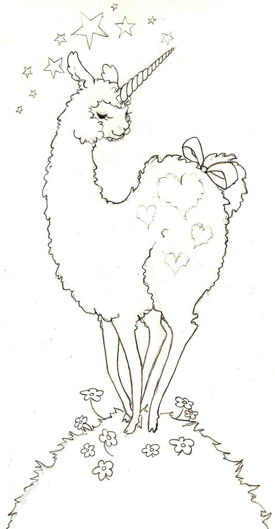 Image result for llamas coloring pges | Llama drama | Pinterest ...