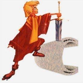 Alfabeto de la espada en la piedra.   Oh my Alfabetos!