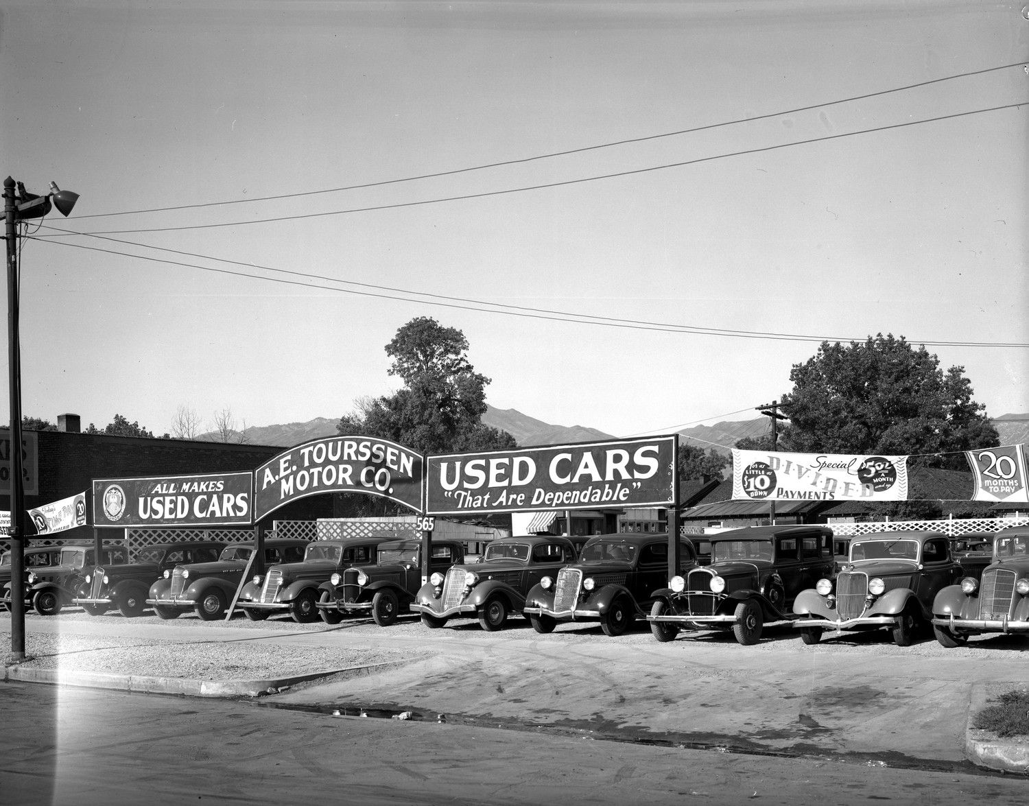 Lost Dealerships Project: A.E. Tourssen Used Cars | Cars, Vintage ...