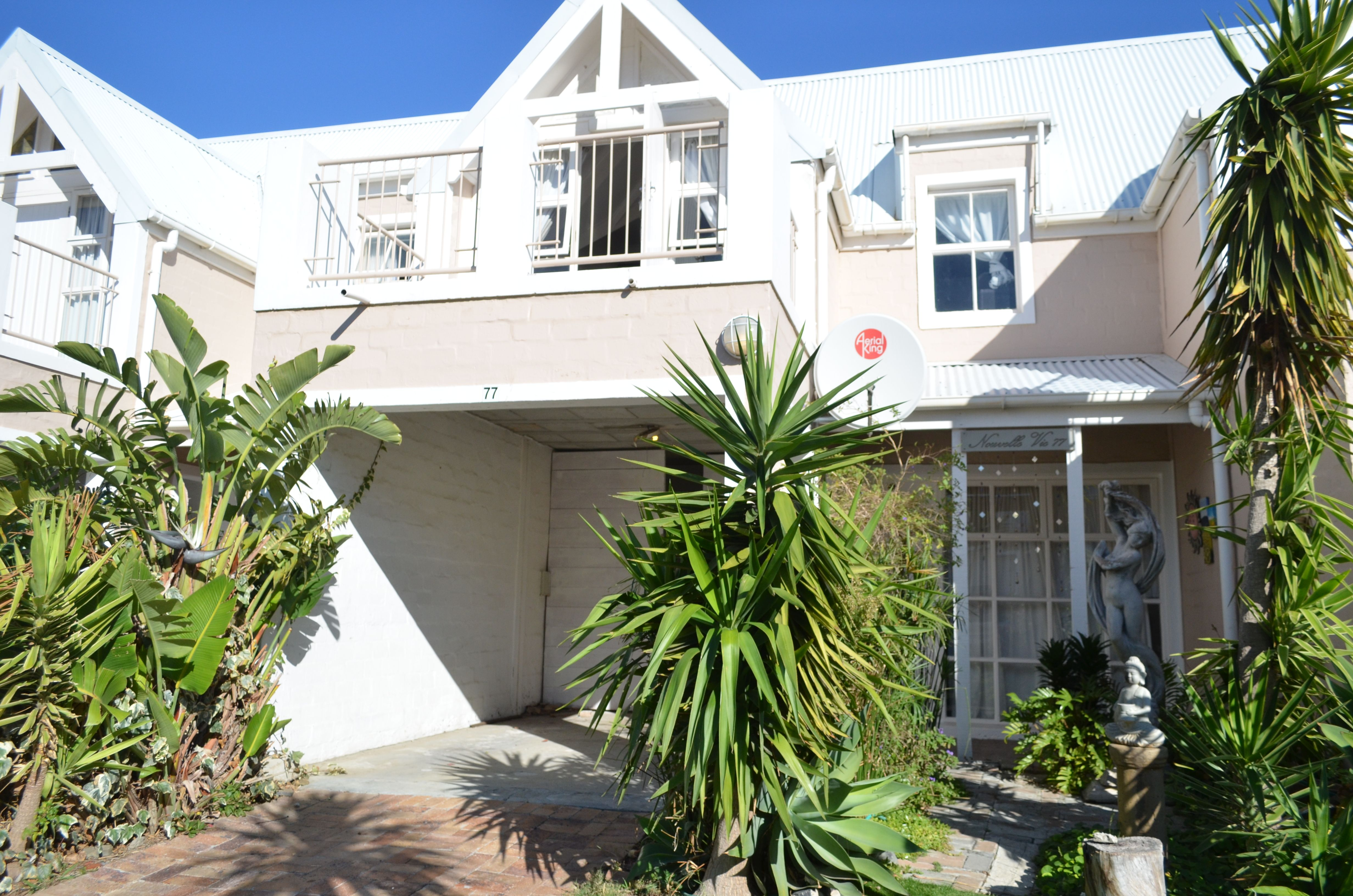 This own title and pet friendly duplex are situated in