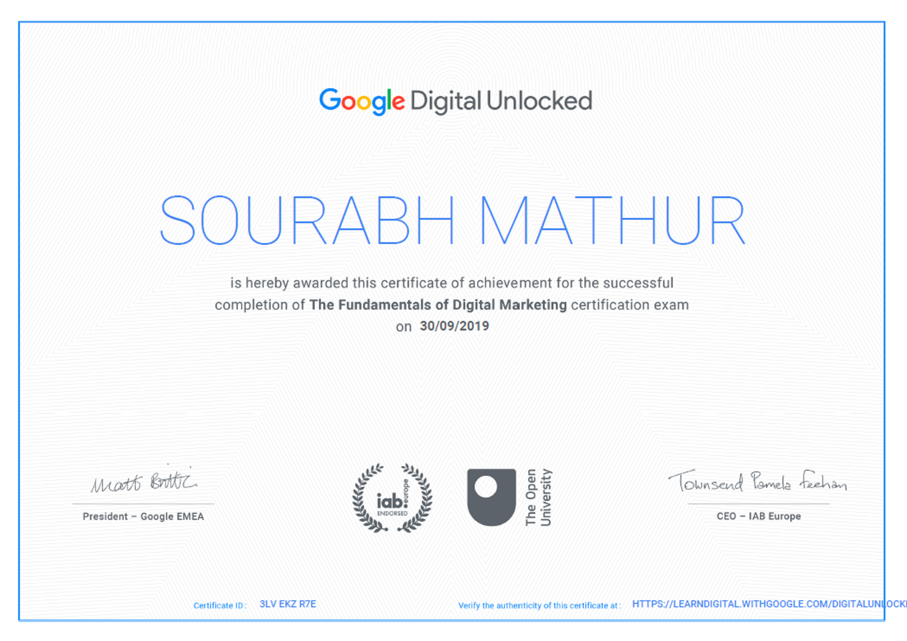 Learn how it is used to encrypt a message now. Google certification | Digital Marketing | Online digital ...