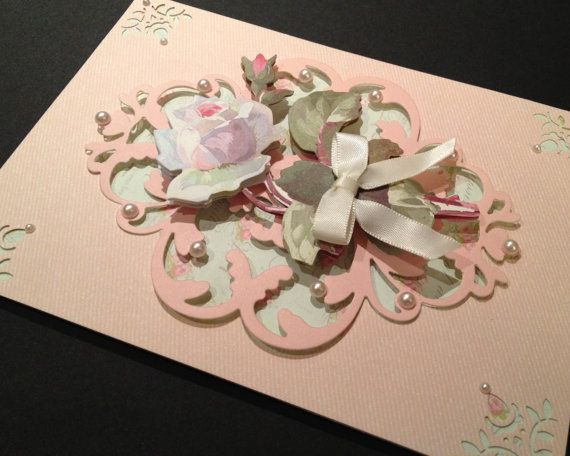Shabby-Sweet and Fancy All Occasion Card by PinkPetalPapercrafts