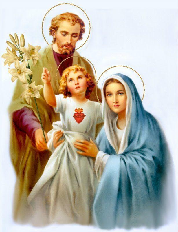 Resultado de imagem para Sagrada Família de Nazaré