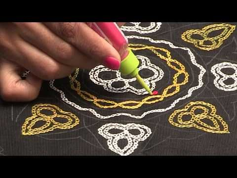 Liquid Embroidery Aari Work Butta Design Youtube Saree Blouse