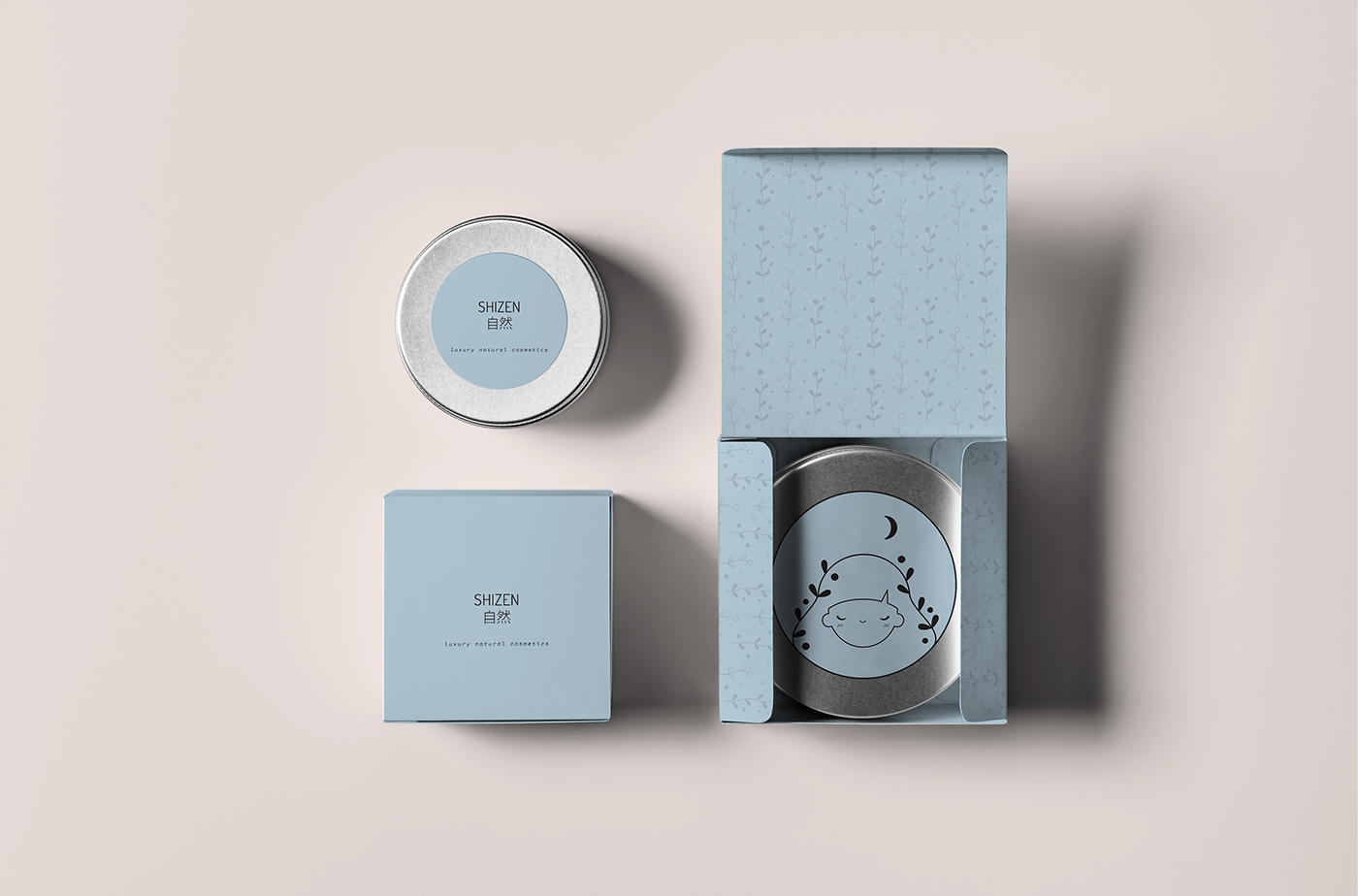 Shizen - Luxury Natural Cosmetics (Concept) on Packaging of the World - Creative Package Design Gallery