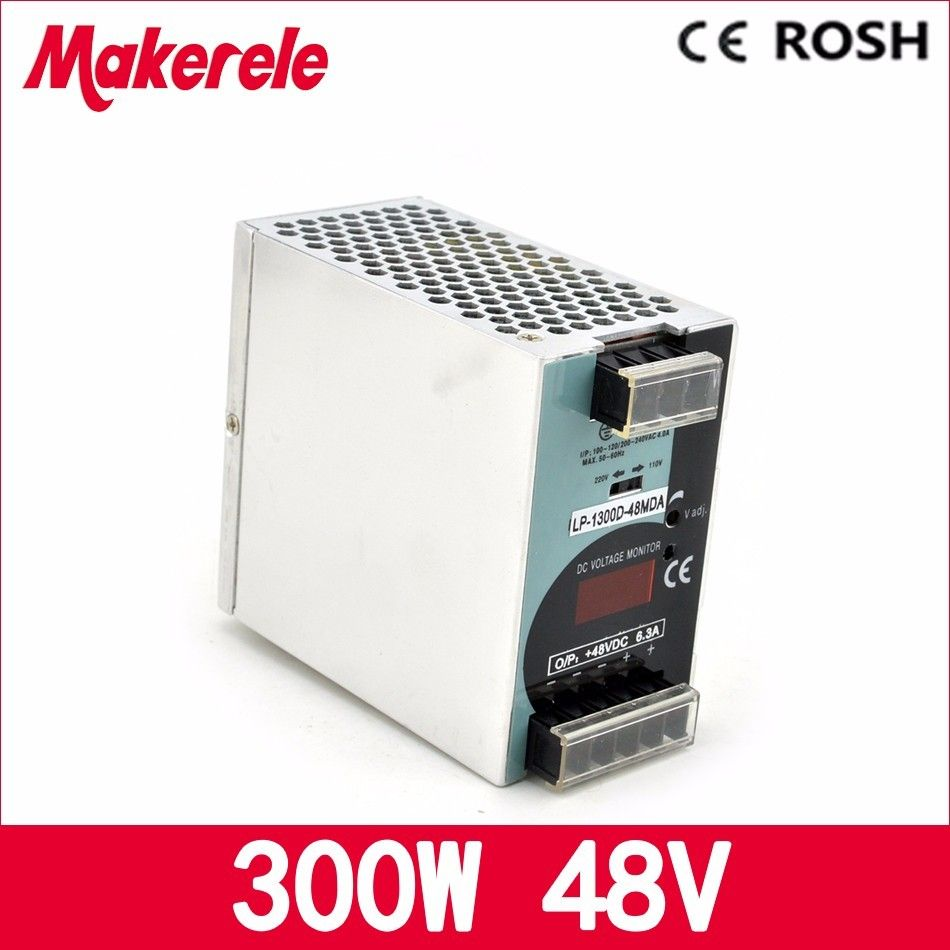 Din Rail Power Supply Lp 300 48 300w 48v 625a Single Output Supplies Switching Miniature Mount Without Digital Display Ac To Dc Smps Cnc