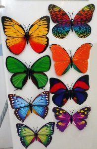 Butterflies for decorations / favours
