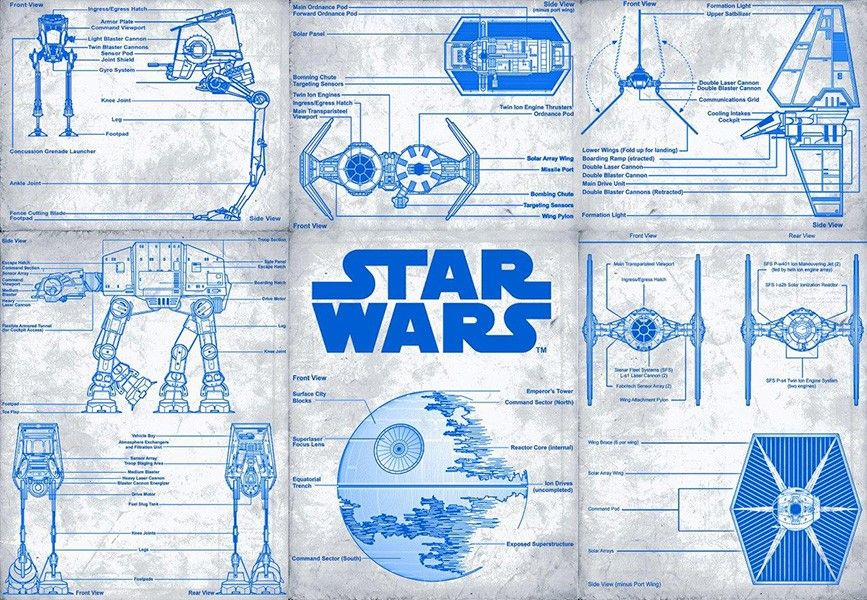 Star Wars Blueprint Design