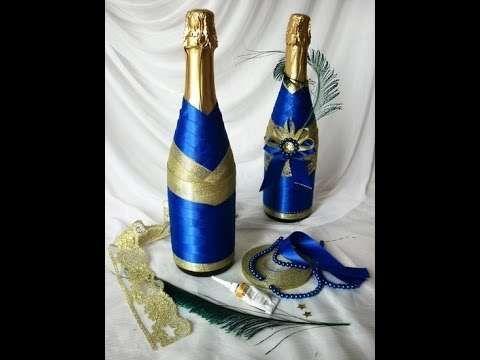 decoracion de botellas con encajes yahoo image search results