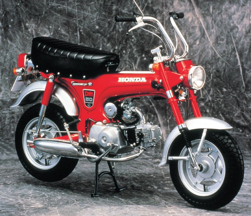 the original honda dax 1969 motorcycles pinterest honda mini bike and mopeds. Black Bedroom Furniture Sets. Home Design Ideas