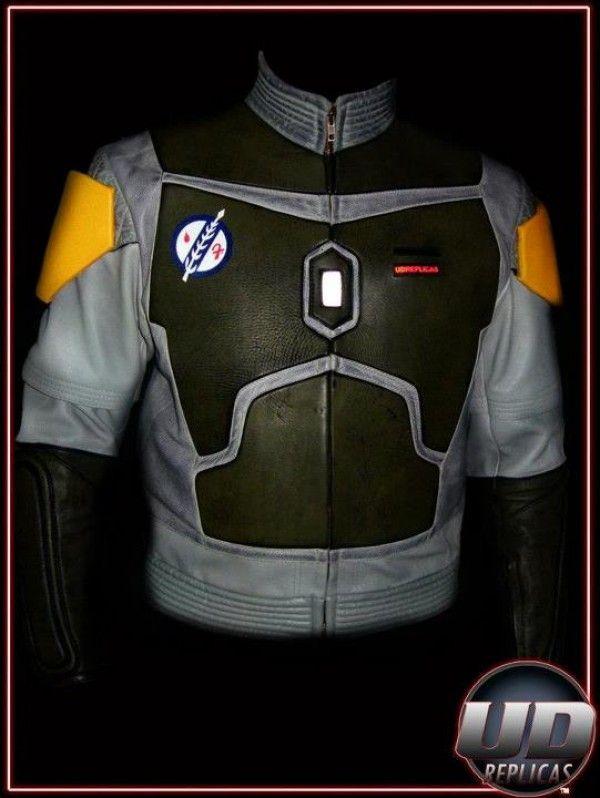 Boba Fett Star Wars Fashion Motorcycle Jacket