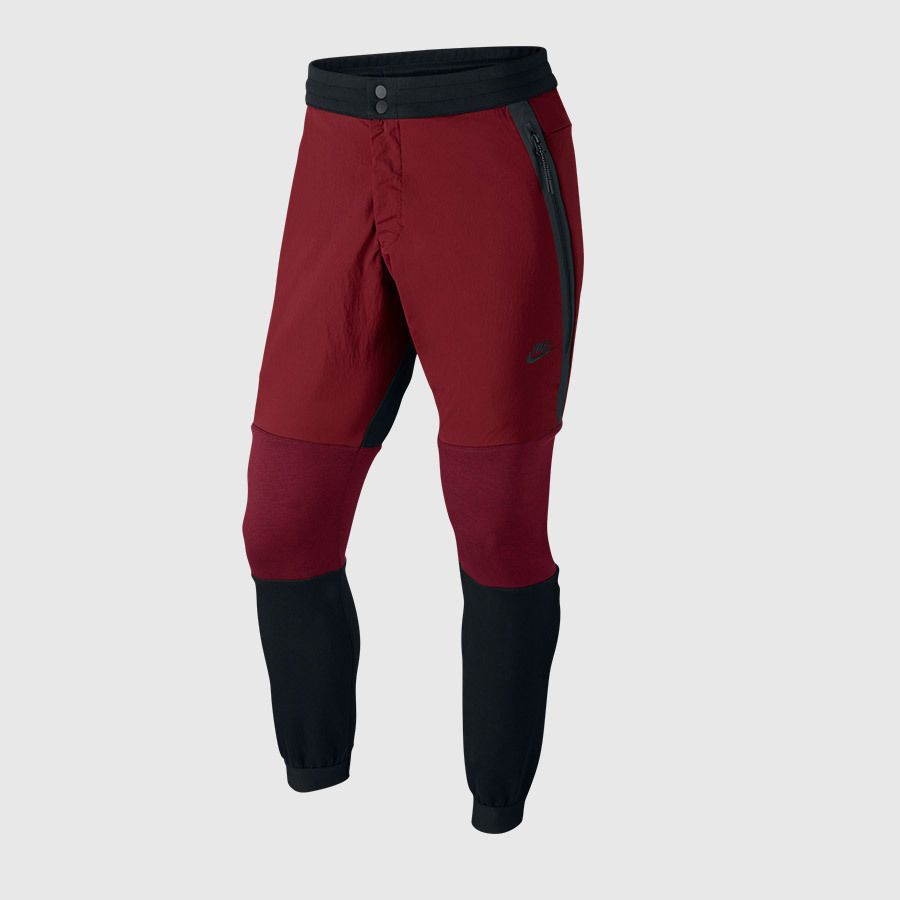Nike tech fleece sweatpants maroonblackburgundy jogger