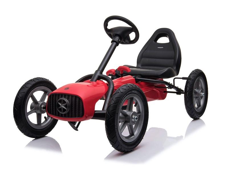 Kart Pedales Infantil De 5 A 12 Anos Rojo Coche Para Ninos Coches De Pedal Go Kart