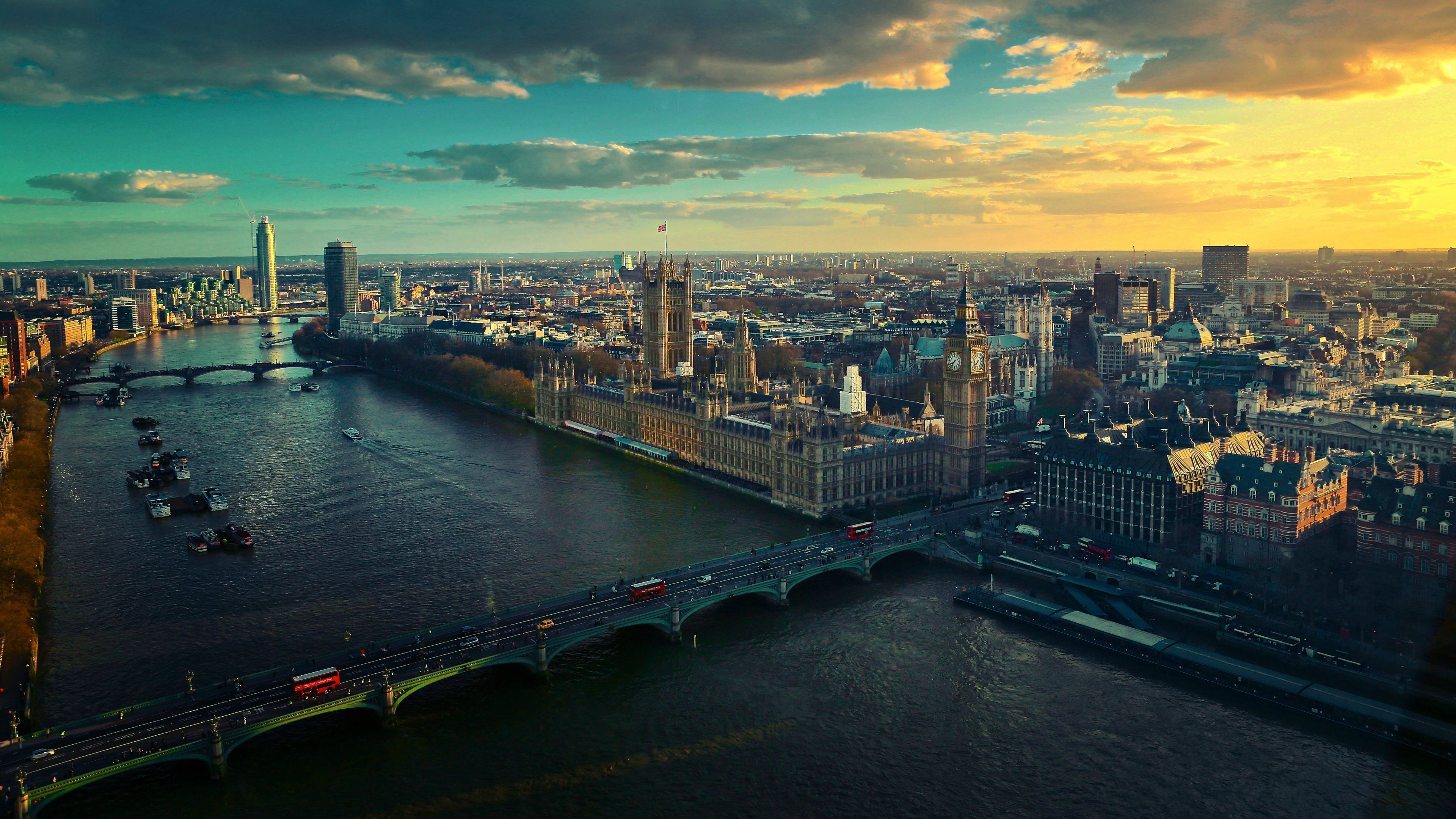 4k London Hd Wallpaper 3840x2160 London Skyline