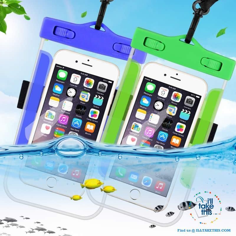 Large Capacity Waterproof Dry Bag Underwater Pouch Cover for Smart Phones