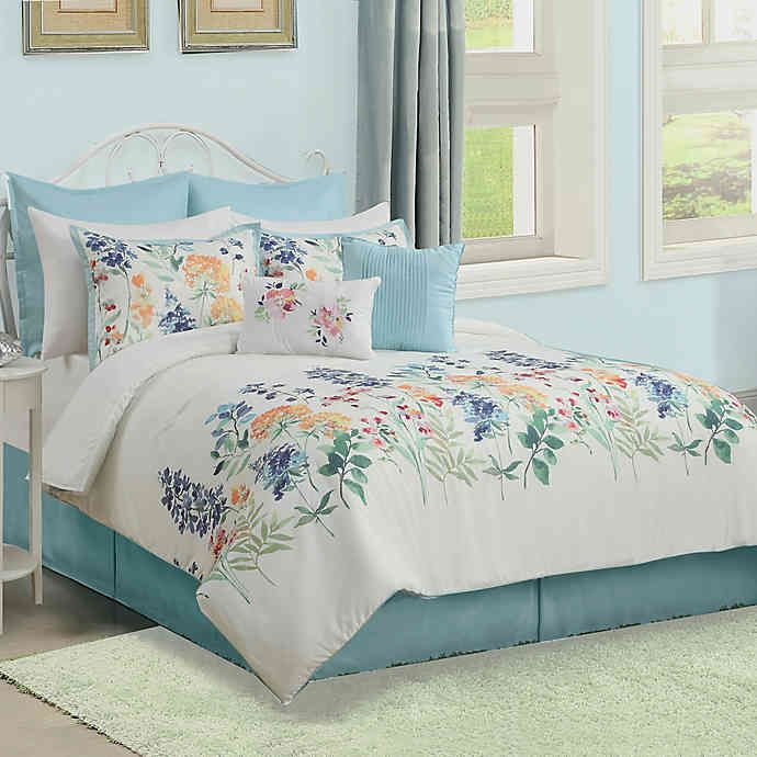 Patricia 12 Piece Comforter Set Bed Bath Amp Beyond