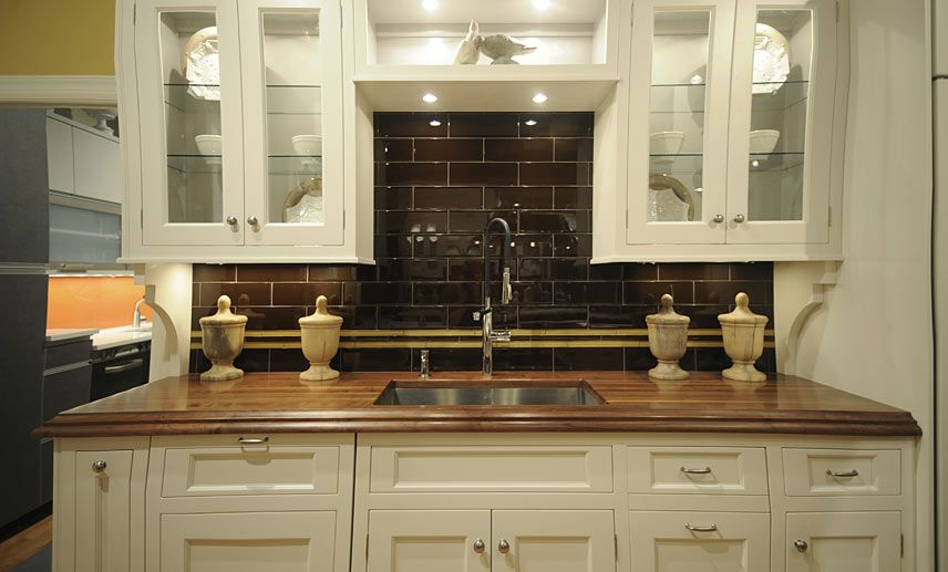 Wood Countertop Butcher Block Countertop Photos By Kitchen