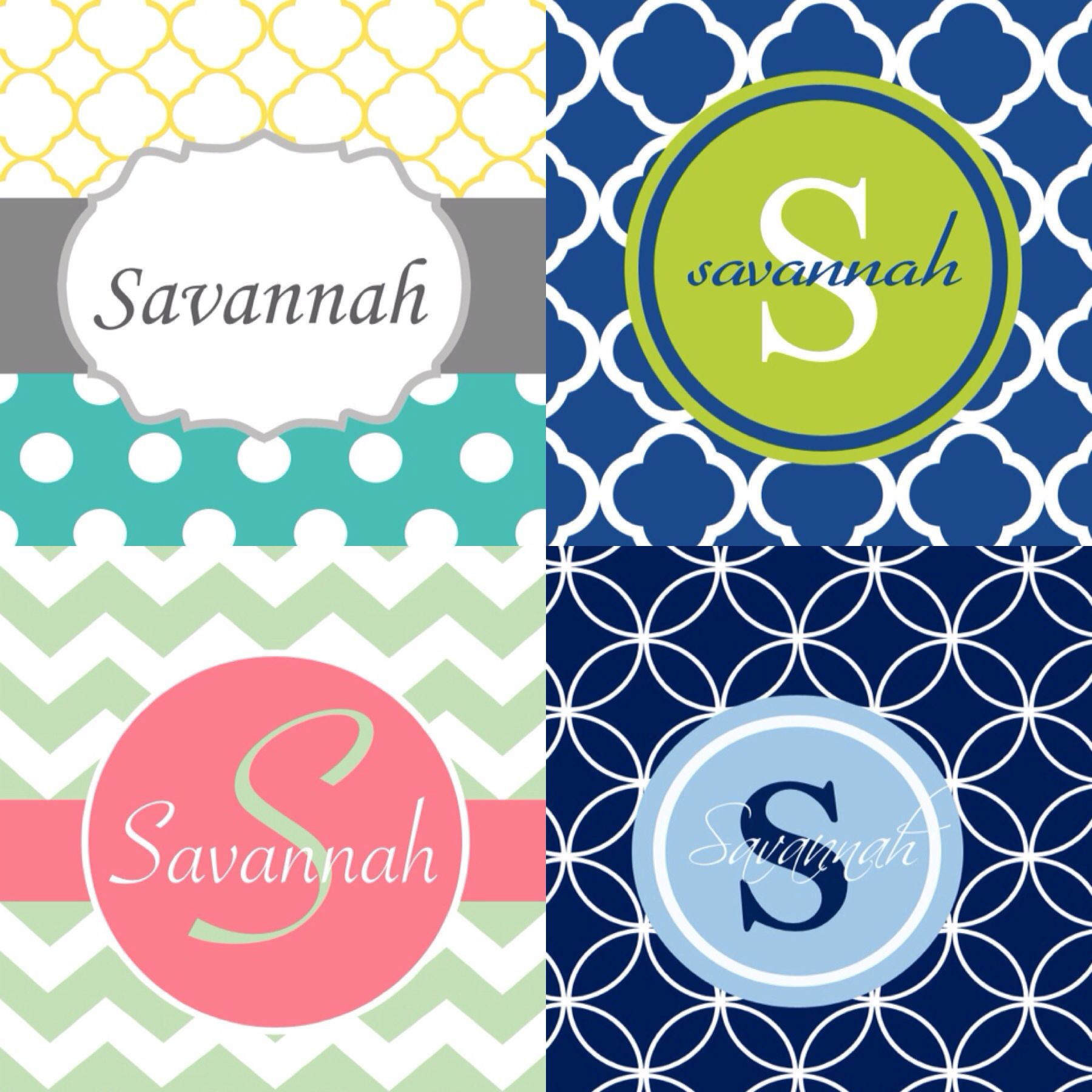 Elegant Monograms App Creates Free Monogram Wallpapers For Your IPhone!
