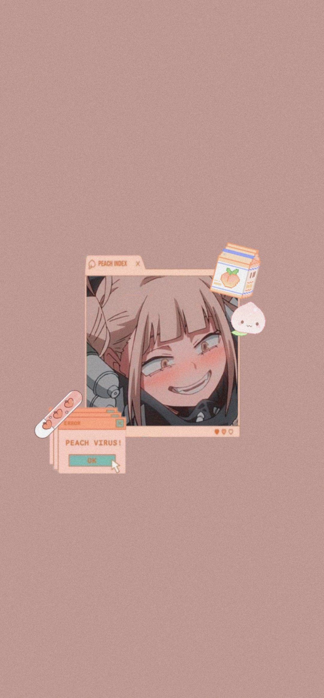 Himiko Toga Gambar Manga Animasi Gambar Anime
