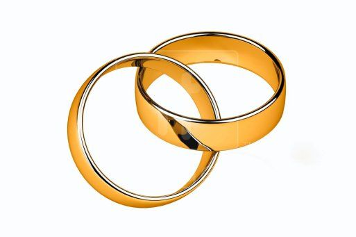 wedding ring clipart Wedding Rings Public Domain Clip Art Image