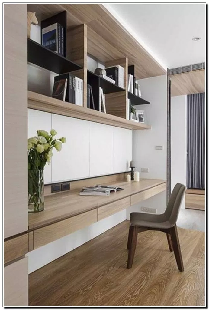 Cool Wall Storage Ideas Small Office