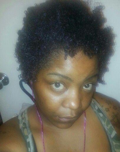 1 year post big chop#3c 4a hair