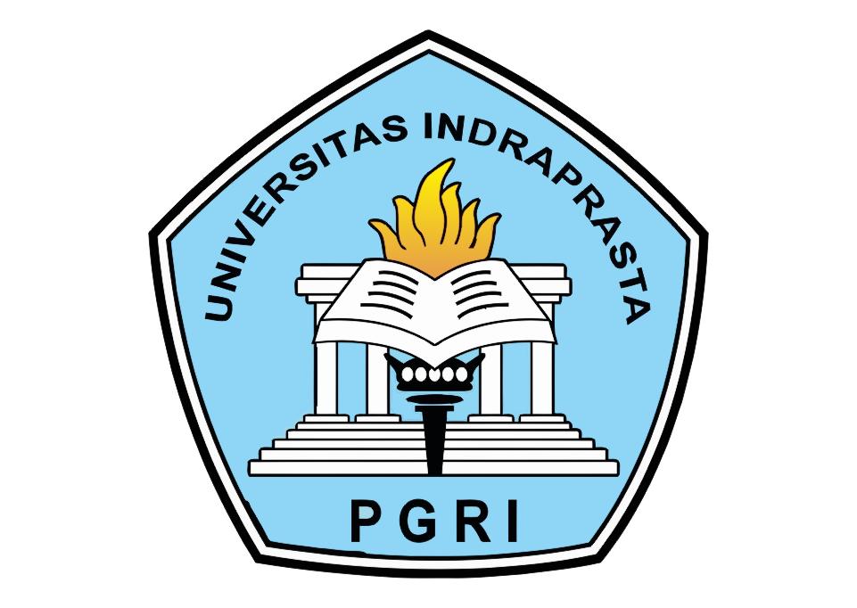 Logo Unindra (Universitas Indraprasta) PGRI Vector
