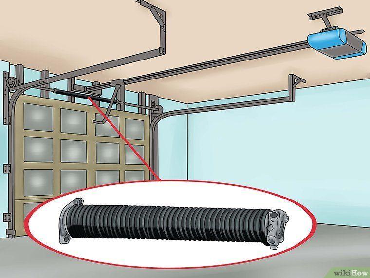 How To Adjust A Garage Door Spring In 2020 Garage Doors Garage Door Springs Garage Door Spring Repair