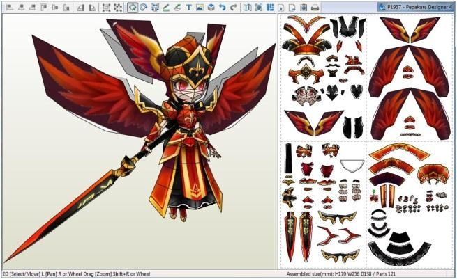 Valkyrja Is A Group Of Monsters In Summoners War Videogame That