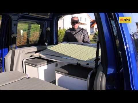 """Anleitungsfilm Ausbau VW Caddy zum REIMO """"Caddy Active"""" - YouTube"""