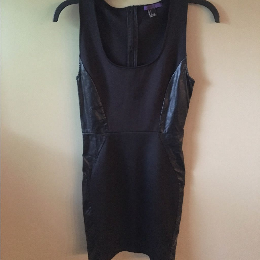 Black side leather dress leather dresses and products