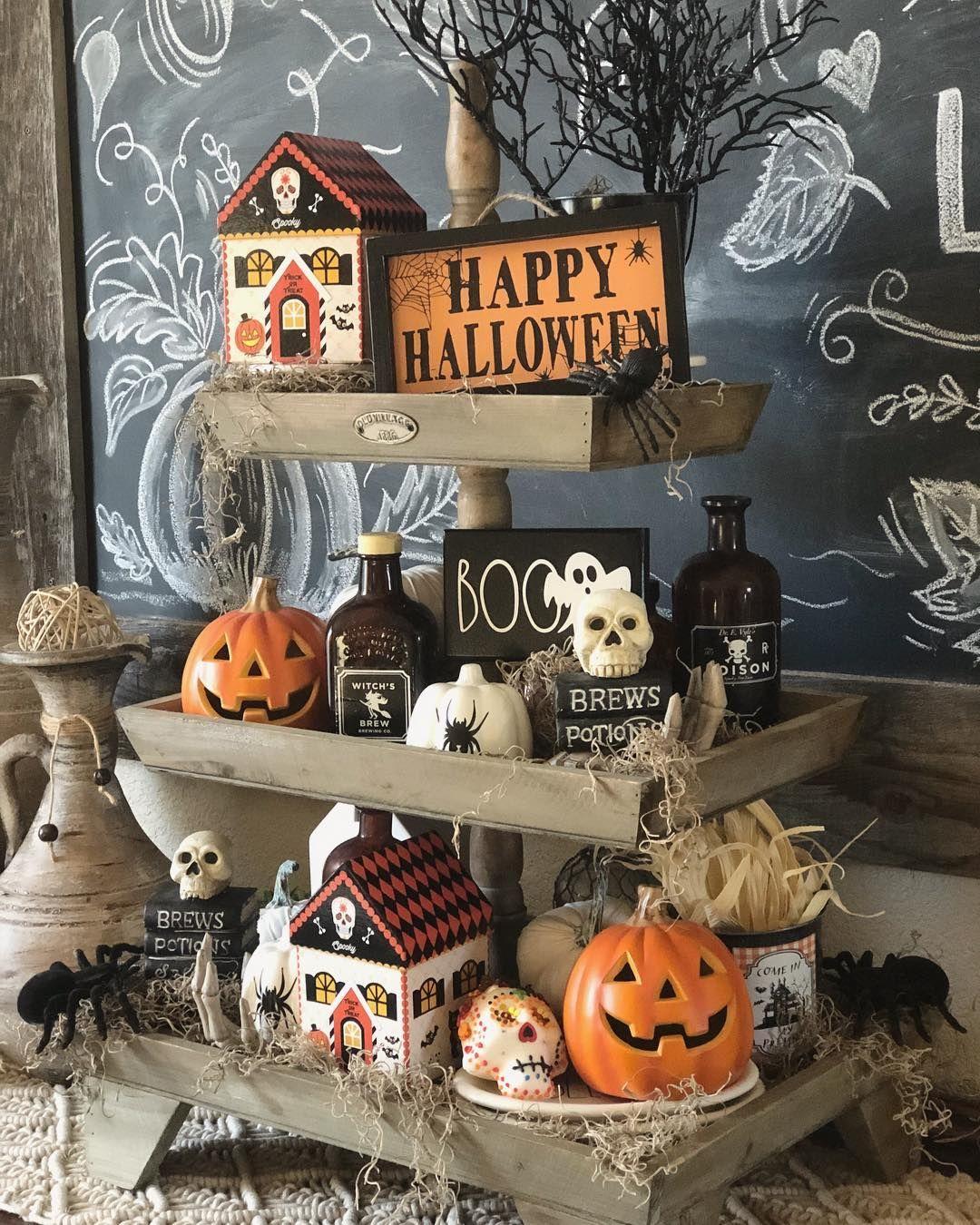 spooky halloween decorations - 736×920