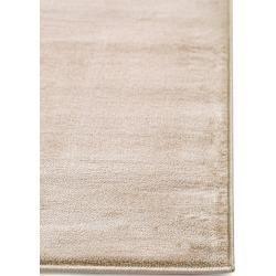 benuta Classic Kurzflor Teppich Velvet Beige 120×170 cm – Moderner Teppich für …